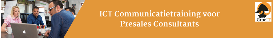 Communicatietraining presales