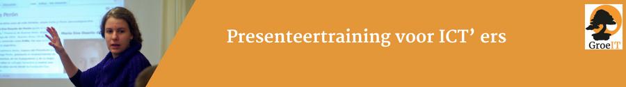 ICT presenteer training